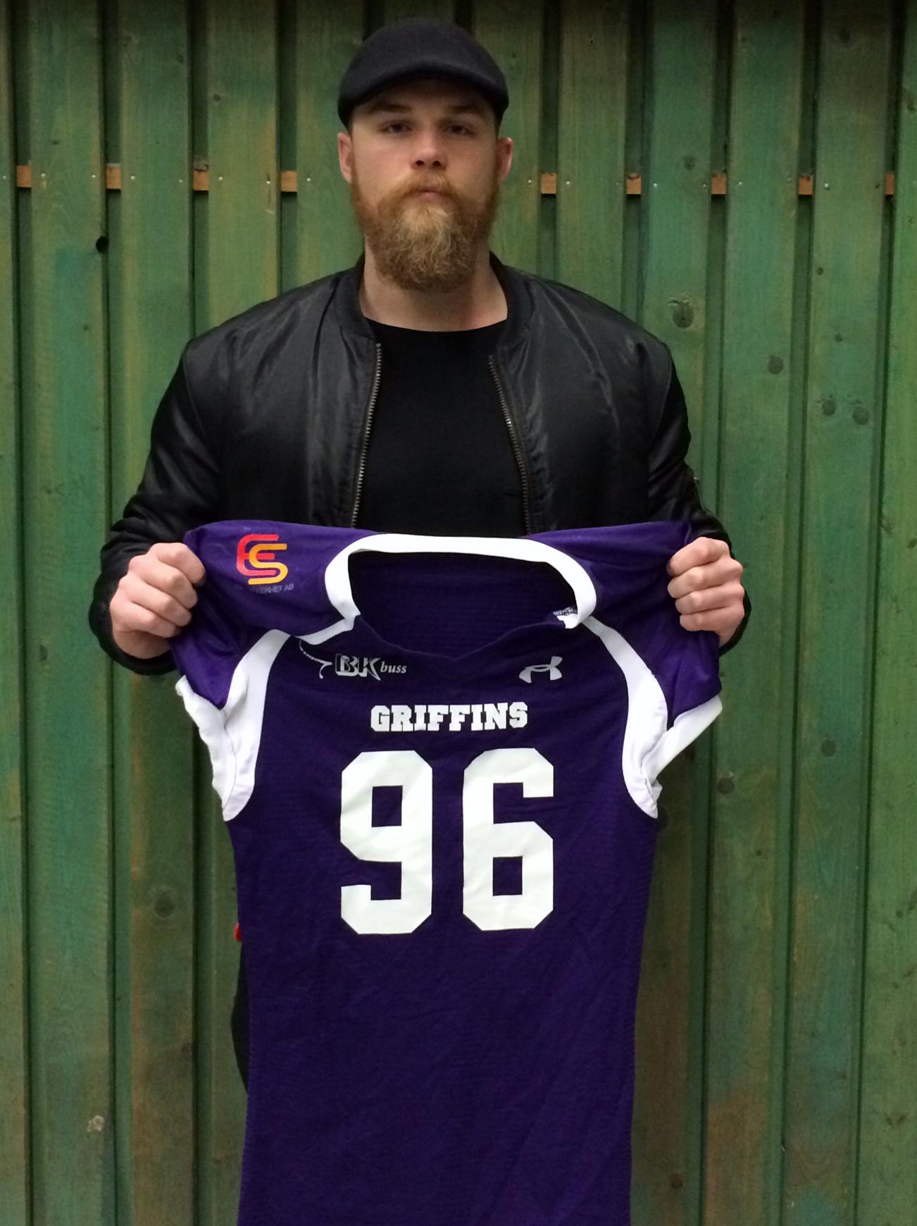 Simon Nilsson är tillbaka i Griffins