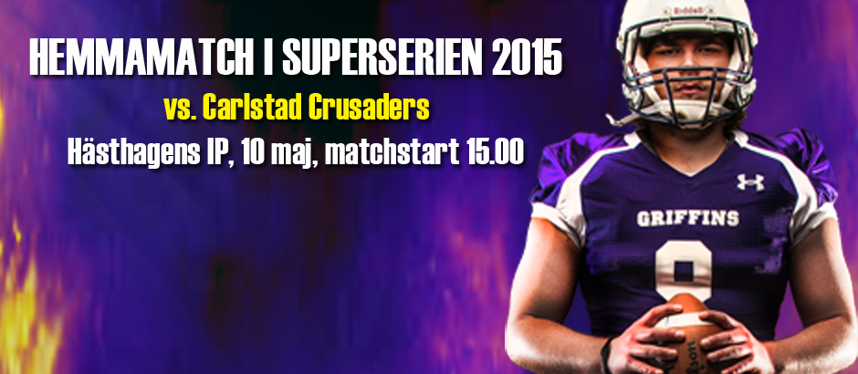FB_Superserien_2015_10 maj_Crusaders_Hampe