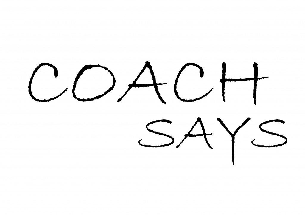 Coach says sign
