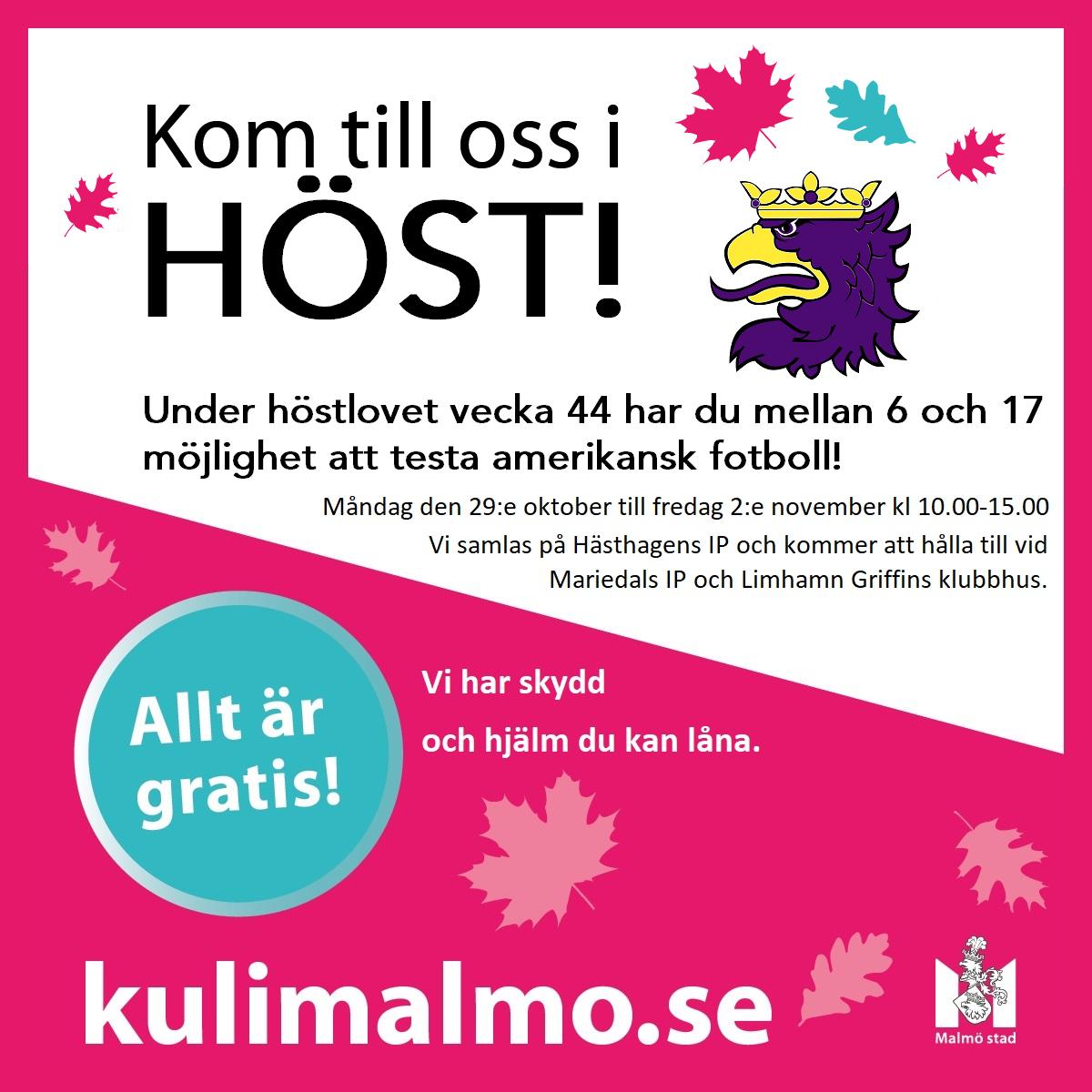 Limhamn_Griffins_Höstkul